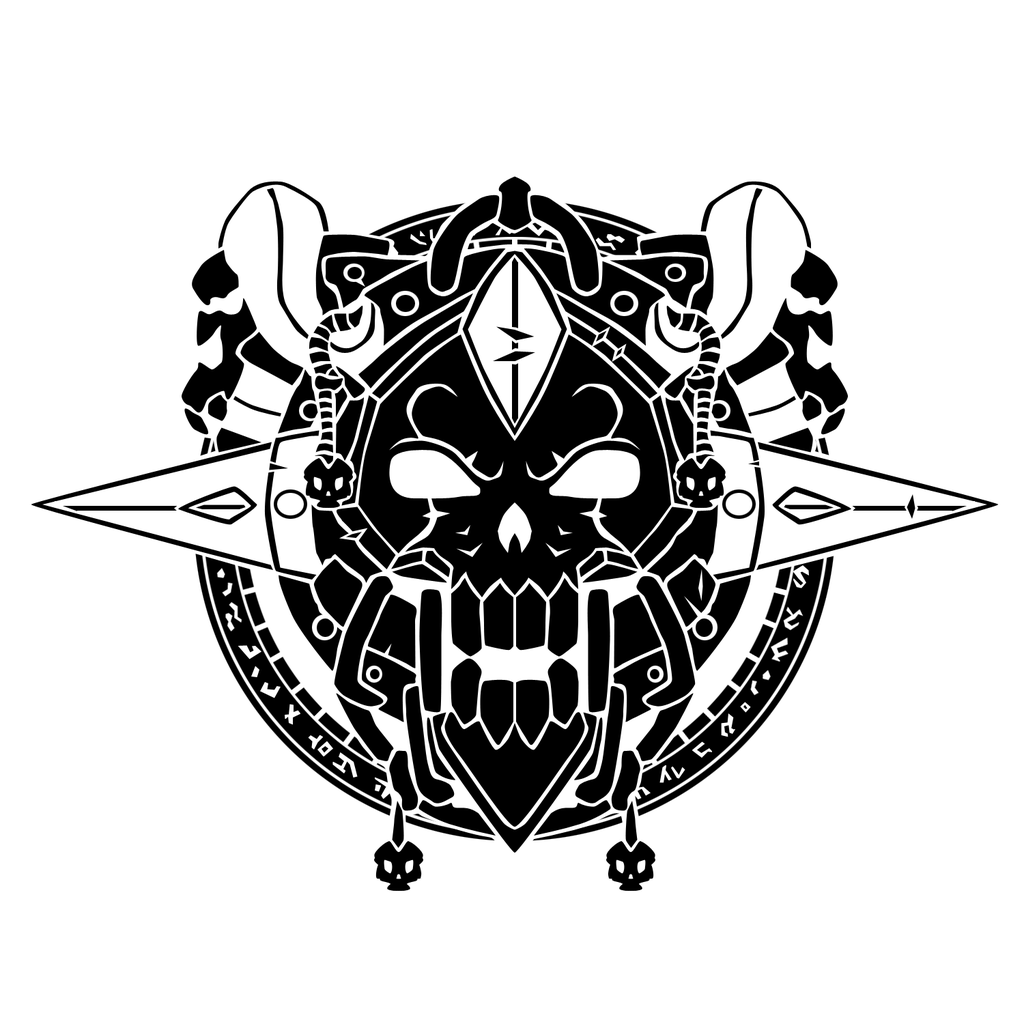 Death Knight Crest – Vector – the misty teahouse