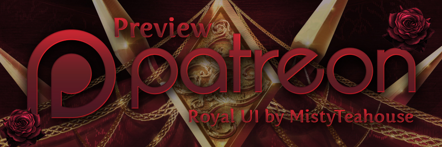Patreon Preview – Art of the Royal UI