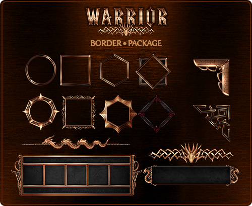 Patreon March Complete – Warrior UI – the misty teahouse
